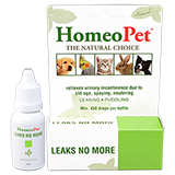 HomeoPet Leaks No More 15ml Bottle