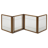 Wood Pet Gate 3-in-1 (4 Panel)