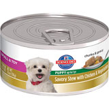 Hill's Science Diet Puppy Small & Toy Breed Savory Stew Canned Puppy Food