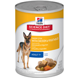 Hill's Science Diet Mature Adult Savory Stew Canned Dog Food