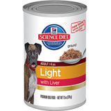 Hill's Science Diet Adult Light Canned Dog Food