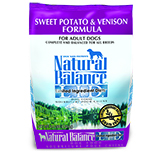 Natural Balance L.I.D. Limited Ingredient Diets Sweet Potato & Venison Formula