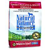 Natural Balance L.I.D. Limited Ingredient Diets Sweet Potato & Bison Formula