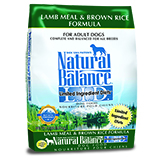 Natural Balance L.I.D. Limited Ingredient Diets Lamb Meal & Brown Rice Formula