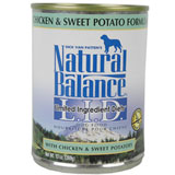 L.I.D. Limited Ingredient Diets Chicken & Sweet Potato Dog Can 12/13oz