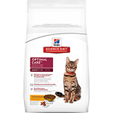 Hill's Science Diet Adult Optimal Care Dry Cat Food