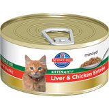 Hills Science Diet Canned Entree Kitten Food