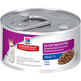 Hill's Science Diet Adult 7+ Entree Canned Cat Food