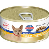 Hill's Science Diet Mature Adult Tender Dinner Canned Cat Food