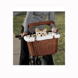 Solvit Wicker Dog Bicycle Basket