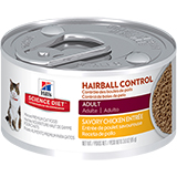 Hill's Science Diet Adult Hairball Control Entree Minced Canned Cat Food