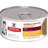 Hill's Science Diet Adult Hairball Control Entree Canned Cat Food