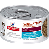 Science Diet Hairball Control Savory Seafood 24 X 3 oz. Cans