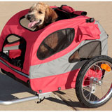 Solvit HoundAbout II Aluminum Pet Bicycle Trailer