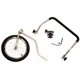 Solvit HoundAbout II Aluminum Pet Bicycle Trailer Stroller Conversion Kit Large HoundAbout II Aluminum Strolling Kit - Large