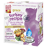 The Honest Kitchen Grace Grain Free Turkey Dehydrated Cat Food