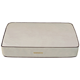 Plush Memory Sleeper X-Small Light Tan/Latte/Dark Grey