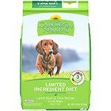 California Natural Limited Ingredient Diet Lamb Meal & Rice Small Bites Dry Dog Food
