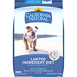 California Natural Limited Ingredient Diet Weight Management Dry Dog Food