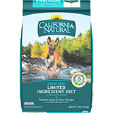 California Natural Limited Ingredient Diet Grain Free Salmon Meal & Peas Recipe Dry Dog Food