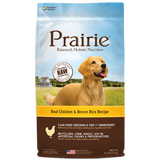 Nature's Variety Prairie Chicken & Brown Rice Dry Dog Food 4.5lb Bag