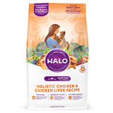 Halo Spot's Stew Indoor Dry Cat Food Wholesome Chicken 6lb