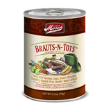Brauts N Tots Can Dog 12/13.2oz