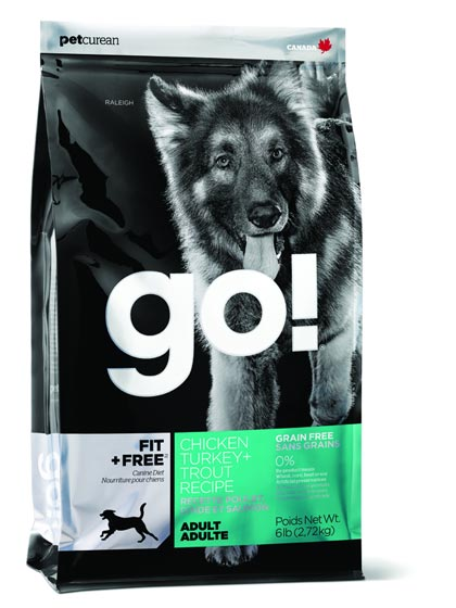 Go! Fit + Free Grain Free Adult Recipe Dry Dog Food 6 lb by