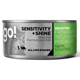 Go! Sensitivity+Shine  Grain Free Trout & Salmon Pate 24/5.5oz