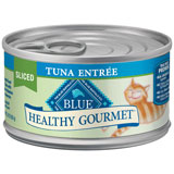 Blue Buffalo Healthy Gourmet Sliced Canned Cat Food