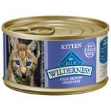 Blue Buffalo Wilderness Canned Kitten Food