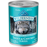 Blue Buffalo Wilderness Trout & Chicken Grill - 12 - 12.5 oz. Cans