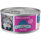 Blue Buffalo Wilderness Small Breed Canned Dog Food