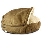 Snoozer Luxury Orthopedic Cozy Cave Pet Bed