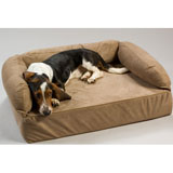 Memory Foam Luxury Pet Sofa - Large Peat Memory Foam Luxury Pet Sofa - Large Peat