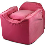 Snoozer Luxury Lookout I Pet Car Seat - Small Pink/pink Snoozer Luxury Lookout I Pet Car Seat - Small Pink/pink