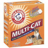 Arm & Hammer Multicat Clump Litter (Click for Larger Image)