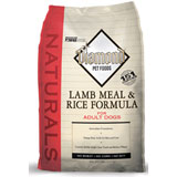 Diamond Naturals Lamb Meal and Rice Adult Dry Dog Food 20lb