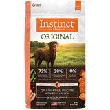 Nature's Variety Instinct Salmon Meal Formula Dry Dog Food 4.4lb Bag