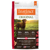 Nature's Variety Instinct Beef Meal & Lamb Meal Formula Dry Dog Food 4.4lb Bag