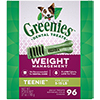 Find Greenies Weight Management Dental Chews on 1-800-PetMeds