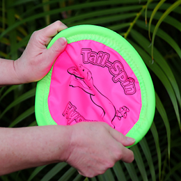 Tail-Spin Flyer Dog Toy at PetMeds