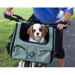 Pet Bike Basket, Carrier and Car Seat in One