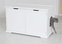 Cat Litter Box Cover and Cabinet