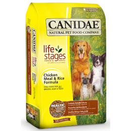 natural dry dog food with no dye