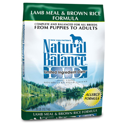 Dick Van Patten's Natural Balance Limited Ingredients Diets Lamb Meal & Brown Rice  Formula