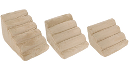 Compare Solvit PupSTEP Plus Pet Stairs To Plush Foam Dog Steps To ...