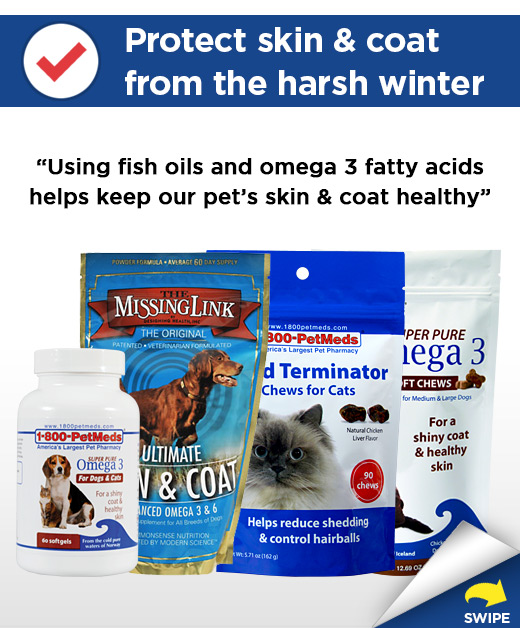 Protect skin & coat from the harsh winter